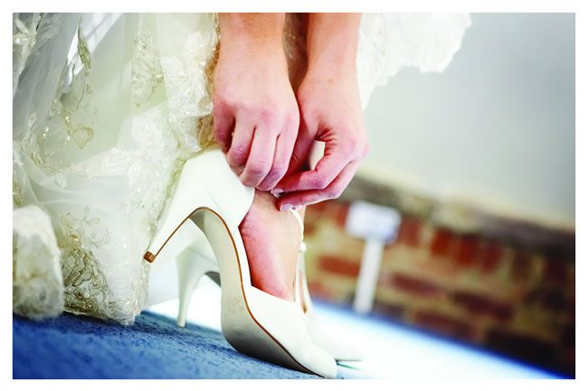 Wedding heel mistakes © nextgenerationphotography.co.uk