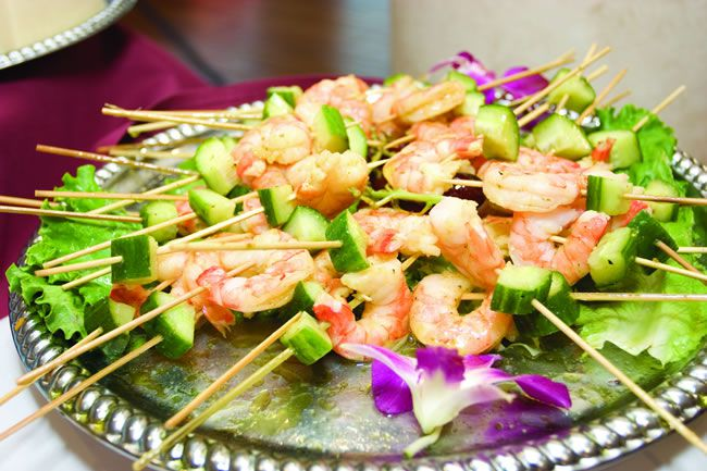 10 delicious alternatives for wedding food!