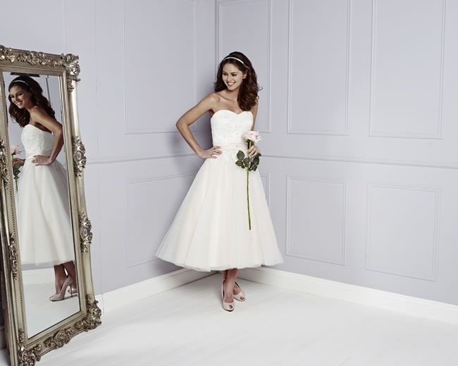 Best Short Wedding Dresses Trixie, Amanda Wyatt