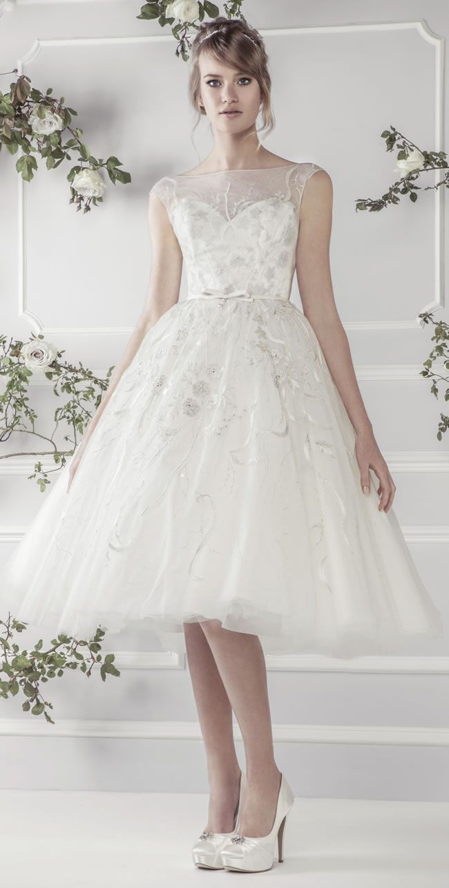 Best Short Wedding Dresses 11411, Ellis Bridals