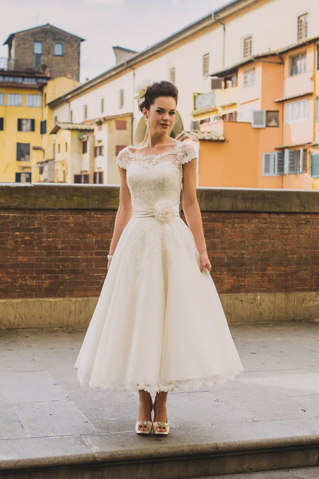 Francesca, Forget Me Not Designs Best Short Wedding Dresses