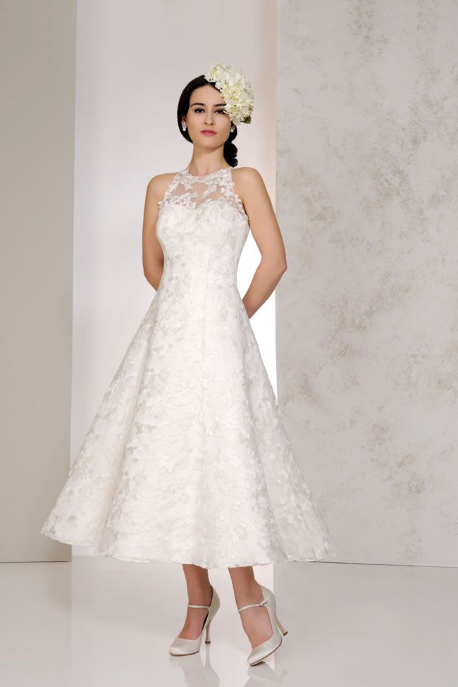 Best Short Wedding Dresses Vicky, Karen George for Benjamin Roberts