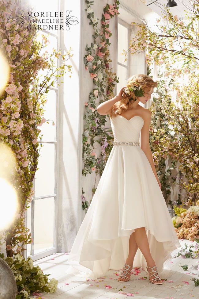 Best Short Wedding Dresses 6772, Voyage by Morilee