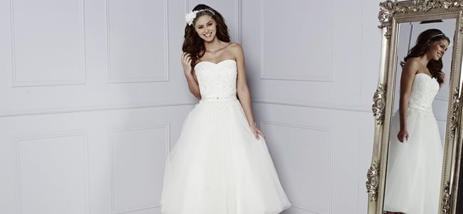 15 of the best short wedding dresses for 2015 • Wedding Ideas magazine