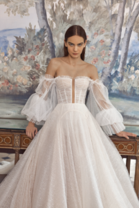off-the-shoulder-sleeves-winter-wedding-dress