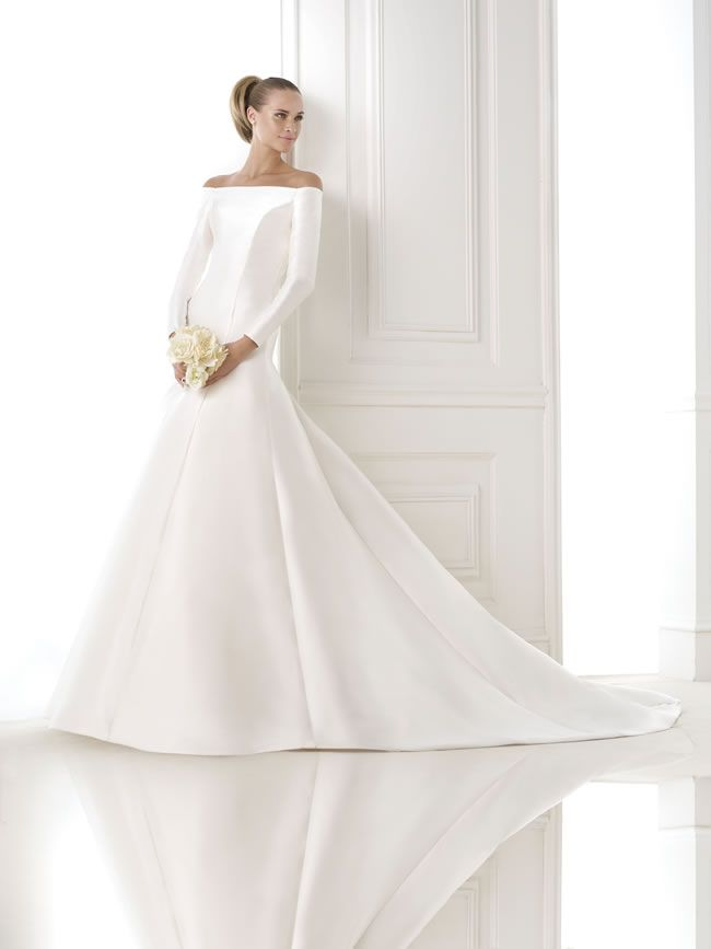 elegant-winter-dresses-pronovias.com BALBINA-B