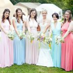inonedress-rainbowbridesmaids