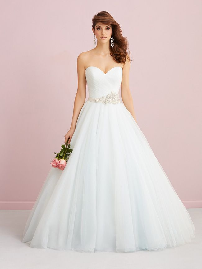 Allure Romance Fall Wedding Dresses 2014 Allure Romance Collection Fall