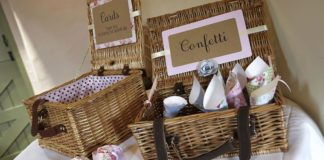 whyte-weddings-budget-friendly-6. www.whyteweddings-uk.com - wicker basket hire from ú10