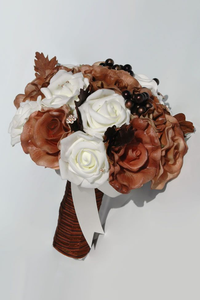 autumn-silk-blooms-angelica-brown-ivory-bridesmaid_4