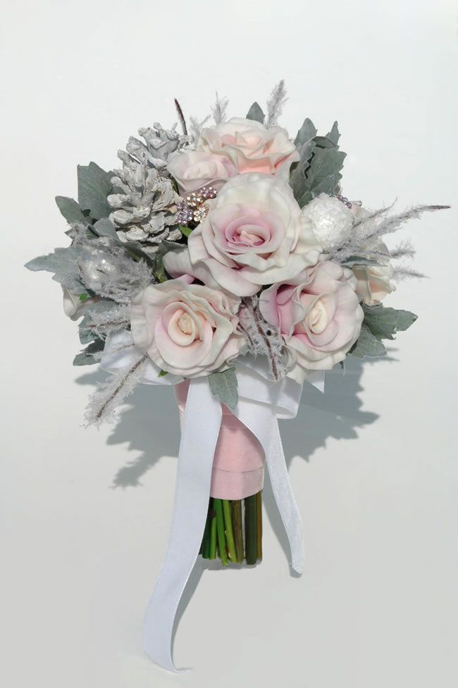 silk-blooms-winter-wedding-lenora-pink-lilac-rose-bride_5
