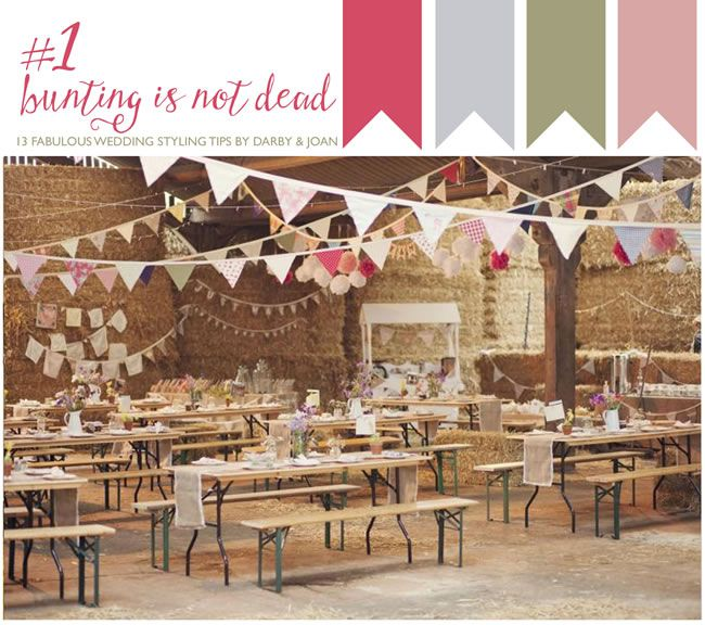 1-bunting13-fabulous-wedding-styling-tips-from-darby-and-joan