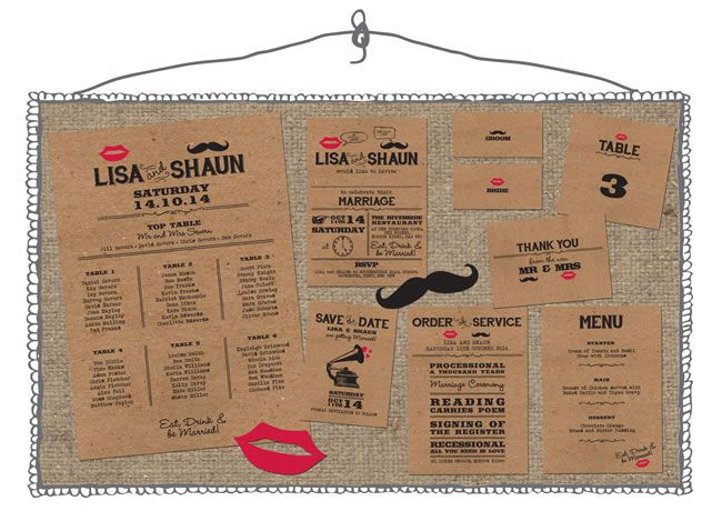 the-invite-shack-moustache and lips collection