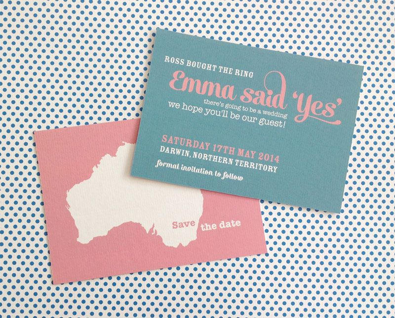 6 mistakes of sending save the date cards