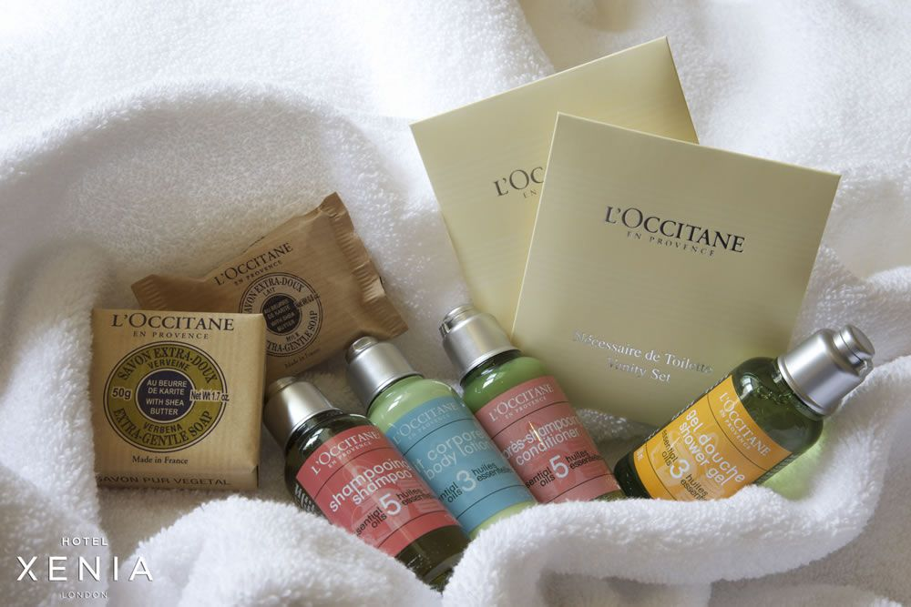 hotel-xenia-wersha-Xenia L'Occitane Bathroom Product
