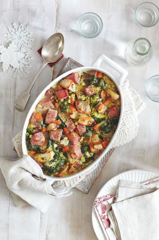 slimming-world-xmas-cheesy-gammon-veg-bake