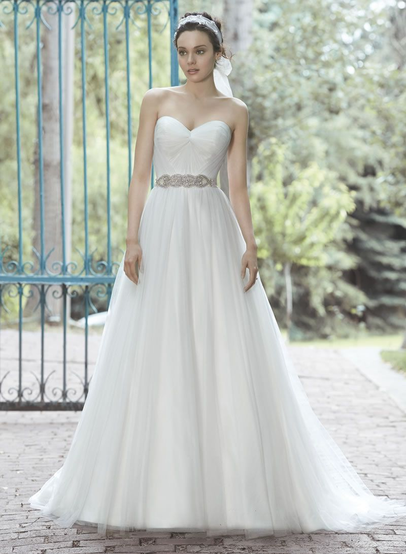 30-best-strapless-dresses-Maggie Sottero Florence