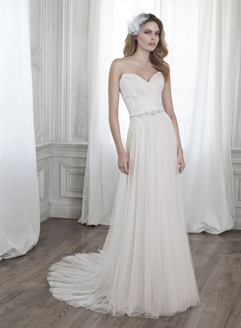 30-best-strapless-dresses-Maggie Sottero Patience
