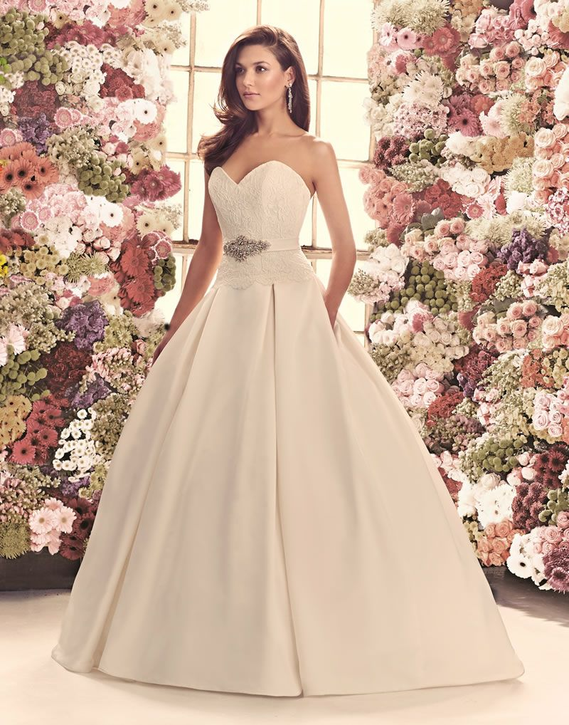 30-best-strapless-dresses-mikaellabridal.com 1916f