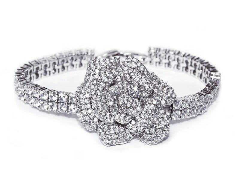 best-vintage-wedding-accessories-Ivory & Co Rose garden bracelet