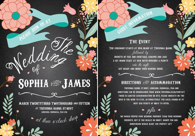"""145-march-reader-offers-Perfectly Floral_Invite_5x7"""""""