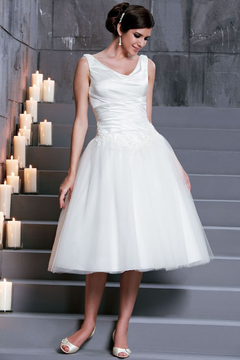 Best Short Wedding Dresses 31476-by-D'Zage