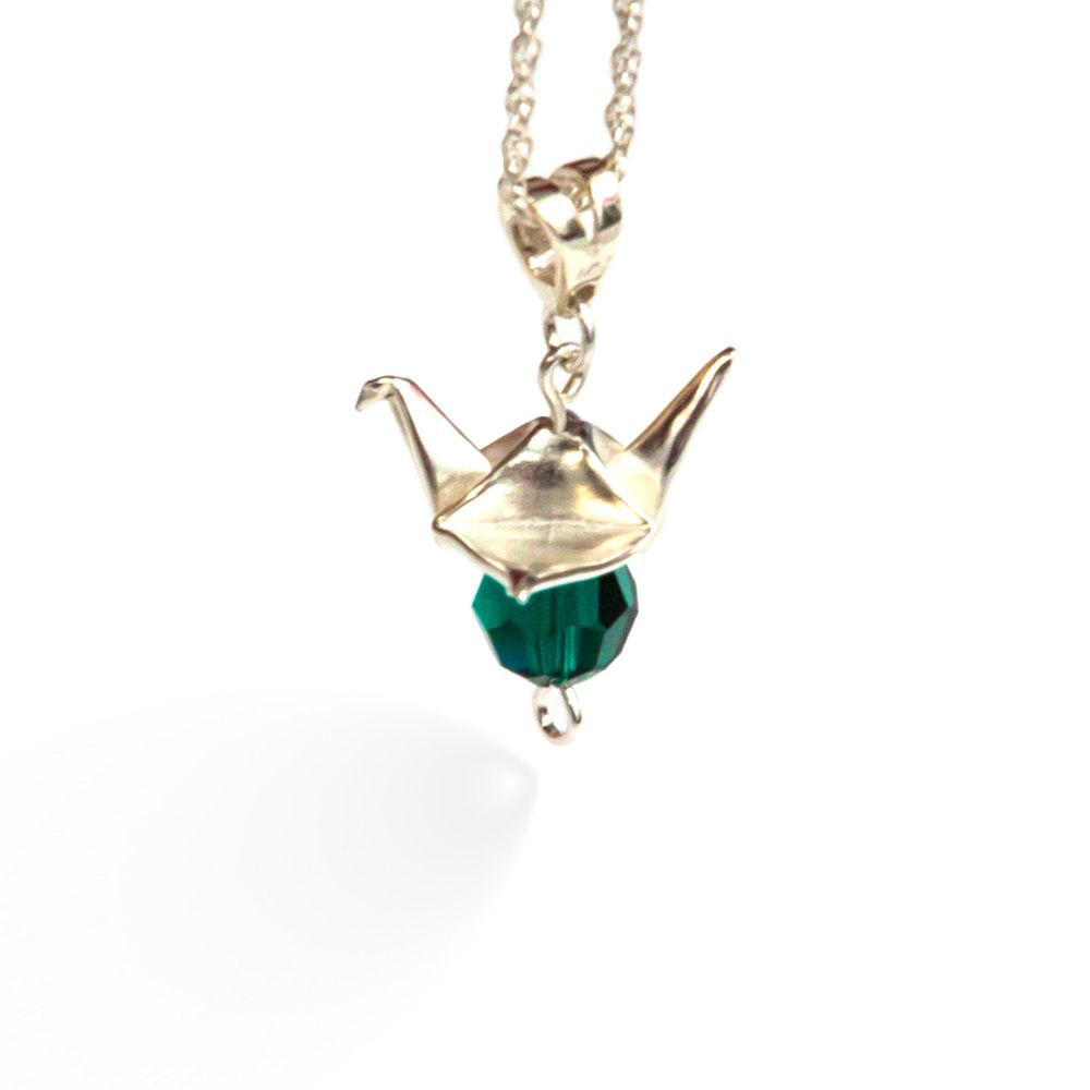 sensational-ways-to-say-thank-you-007 The-Origami-Boutique-fine-silver-crane-necklace