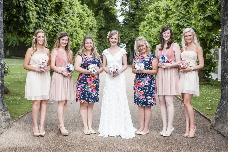 Katherine And Michael's Vintage Wedding With A Travel Twist