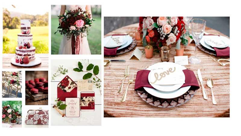 7-new-wedding-reception-decor-trends-for-the-summer-3---Marsala-inspired