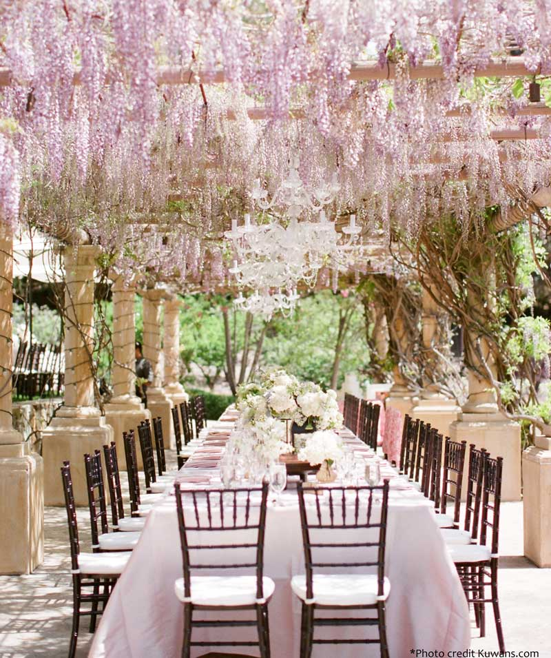 Spring Wedding Reception Ideas: 7 New Wedding Reception Decor Trends For The Summer