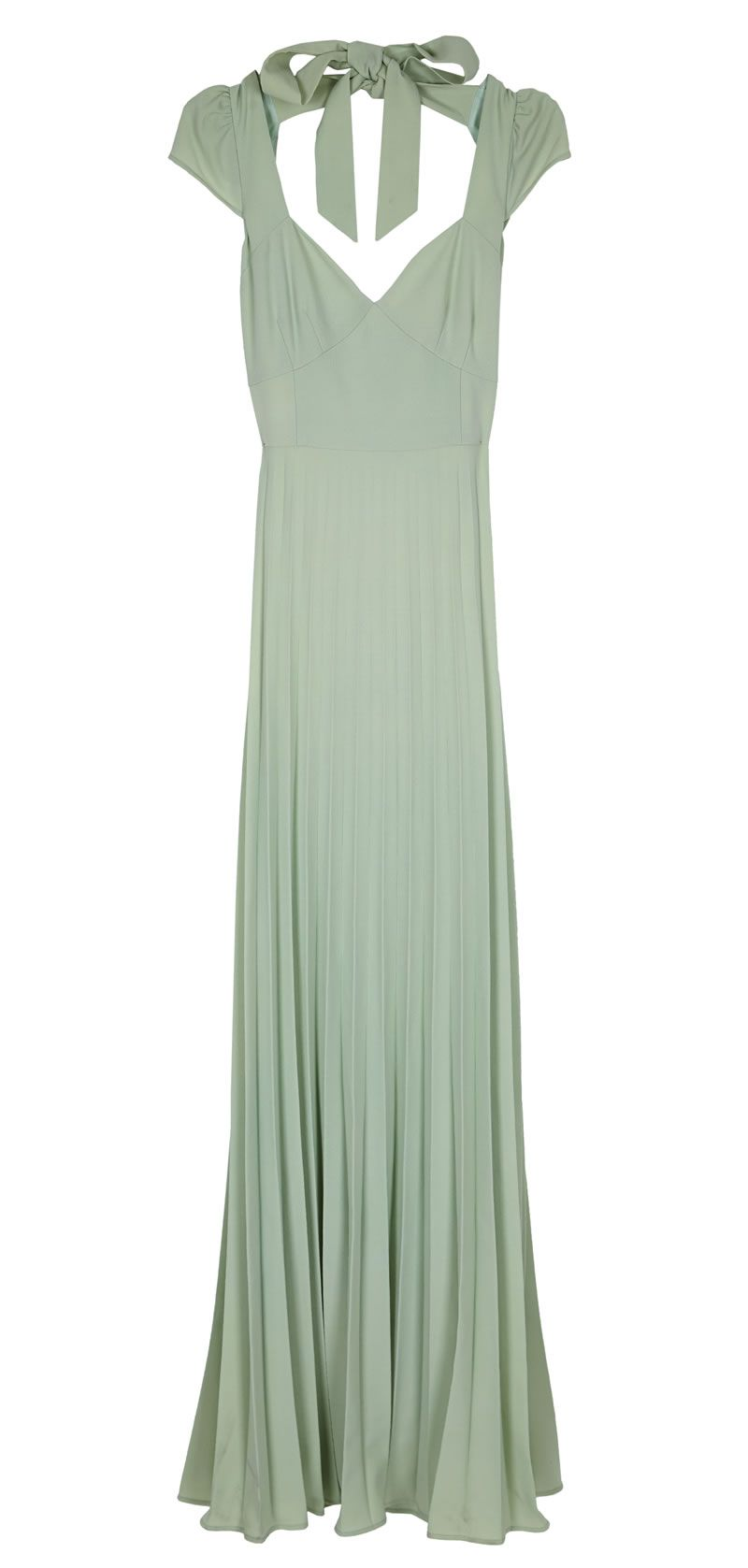 asos-bridesmaid-collection-ASOS Premium pleated maxi dress_ú65