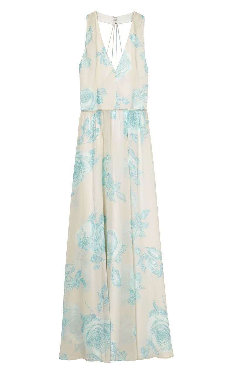 asos-bridesmaid-collection-ASOS Watercolour mint rose maxi dress_ú65