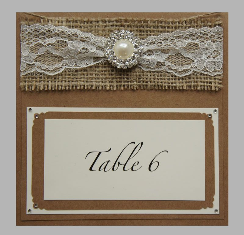 best-rustic-wedding-stationery-serendipityweddingdesign.co.uk Country Elegance, Table Number, £3.90 Lifestyle