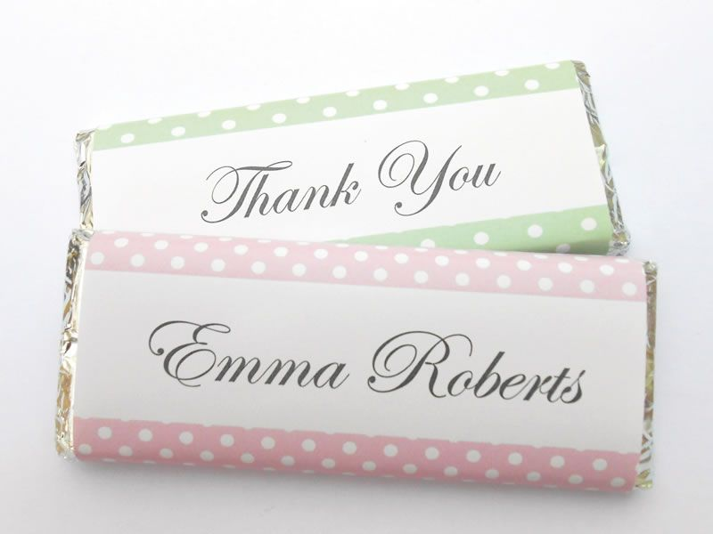 easter-best-buys-WrapperStar.co.uk Pink & Green Polka dot favours from £1.85