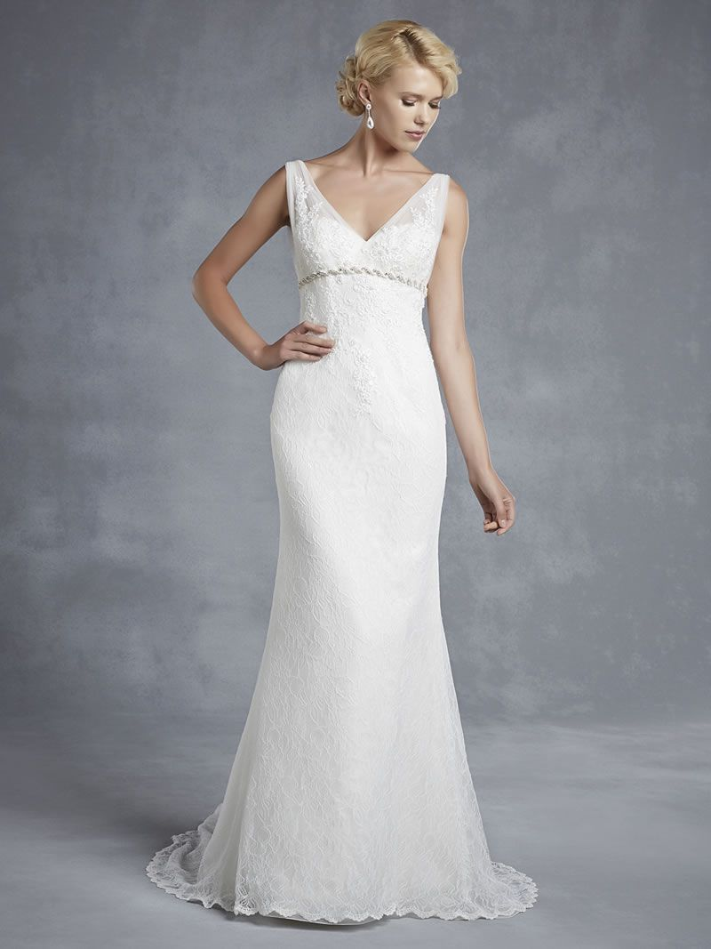 Best Lace Wedding Dresses thick straps