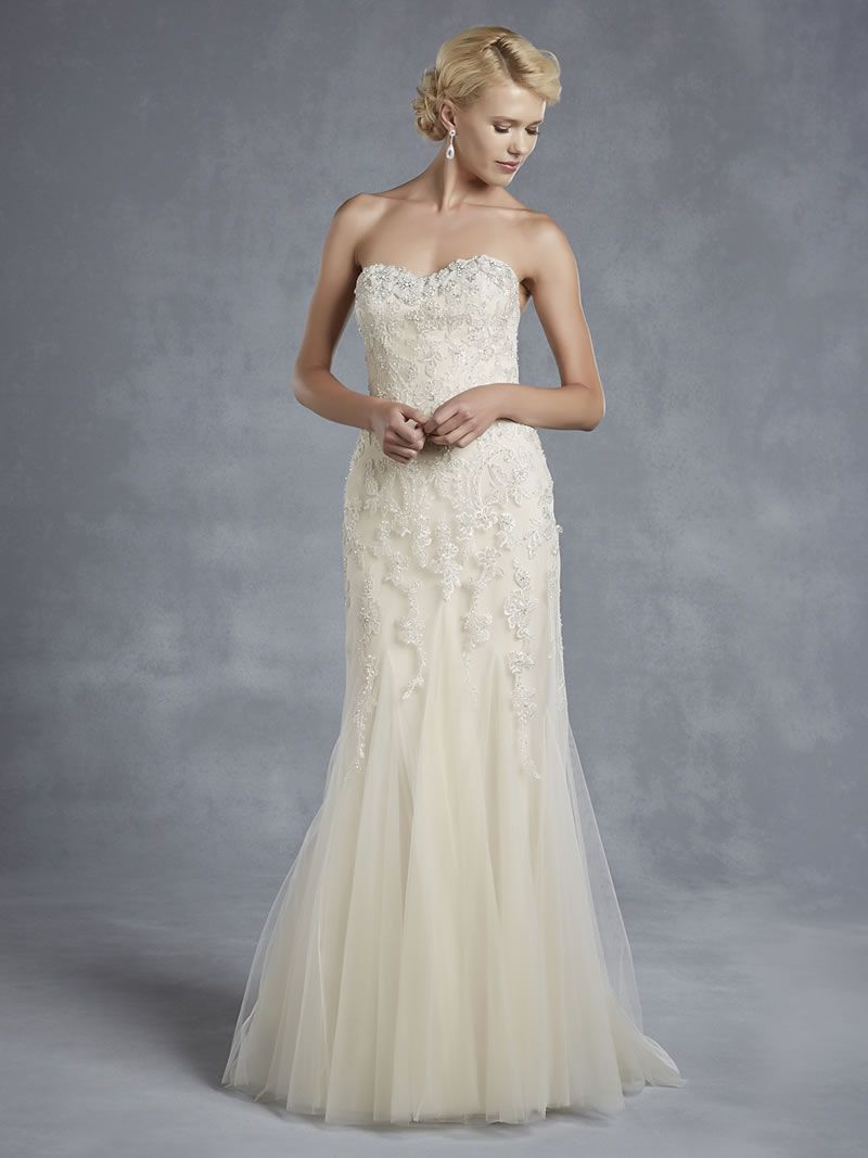 Best Lace Wedding Dresses strapless