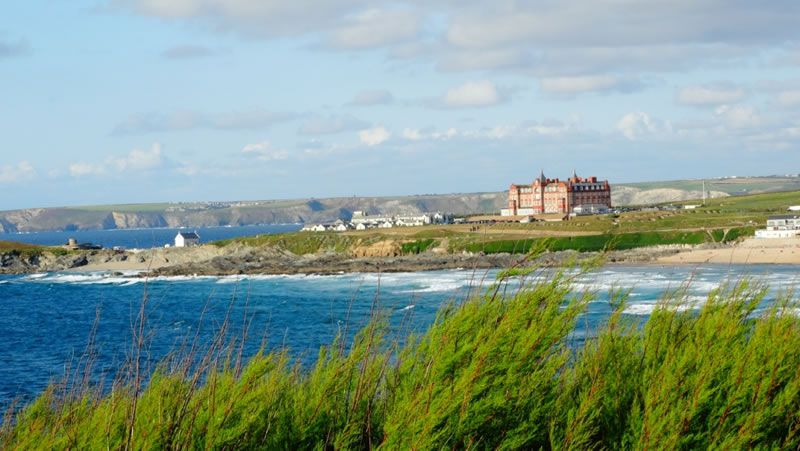 headland-hotel-romantic-getaway-Headland Hotel surrounded on three sides by Atlantic Ocean low