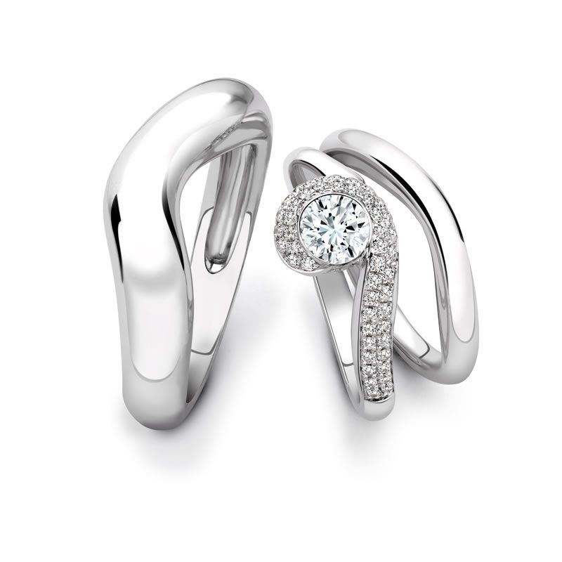 heirloom-london-Fei Liu - Arabella platinum and diamond bridal set