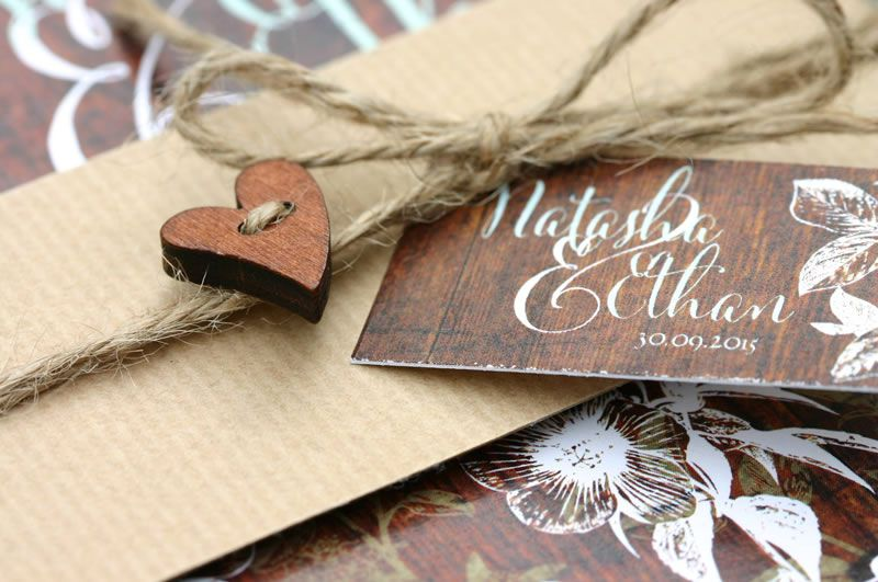 ivy-ellen-natural-Hedgerow Belly Band Wedding Invitation 2 from £1.95 www.ivyellen.com