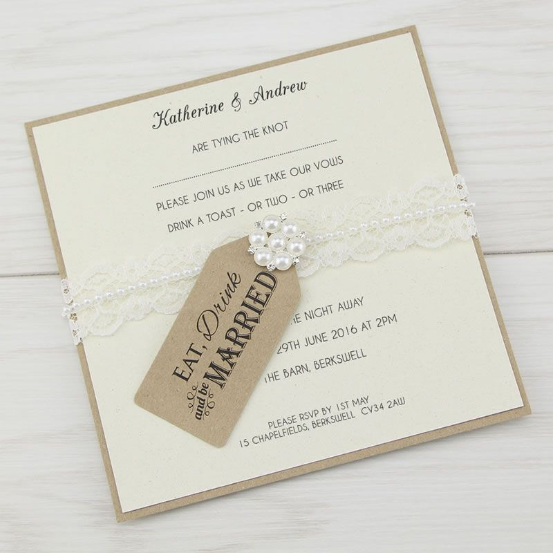 pure-invitation-diy-stationery-Eat Drin and Be Married Layered Square from 1.95