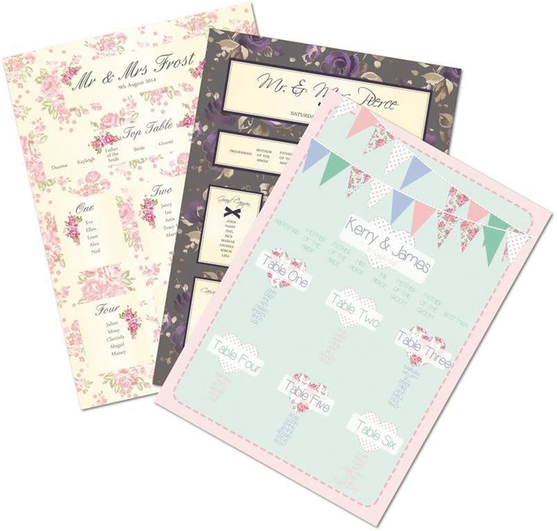 reader-offers-april-3. www.whyteweddings-uk.com, Cl aire Tableplan, From £45 (2)