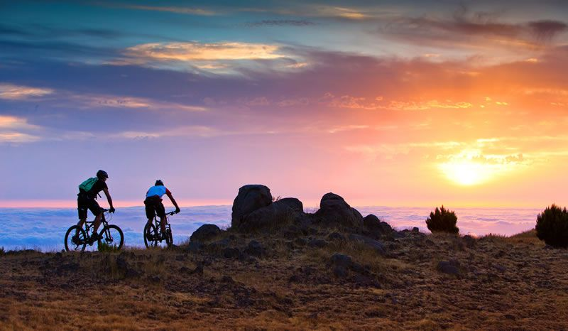 5-best-spa-breaks-Galo-Resort-Sunset-Biking-2