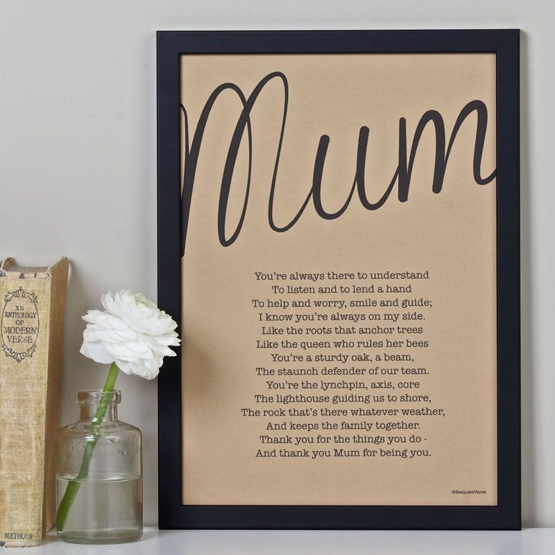 7-best-wedding-prints-bespoke-verse-My Mum personalised poem print