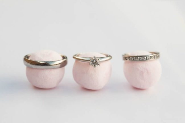 engagement rings on strawberry bonbons what your engagement ring says about you
