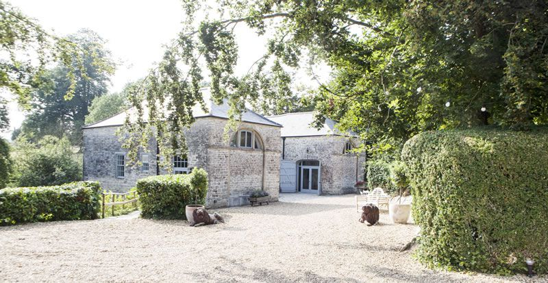 pennard-house-festival-wedding-Coach House exterior