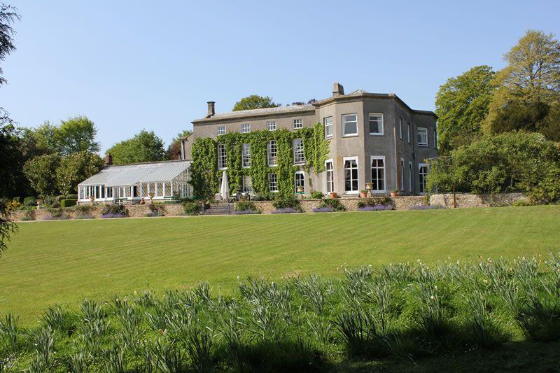 pennard-house-festival-wedding-Pennard House from the back lawn