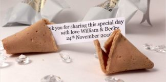 unique-wedding-favours-personalised wedding fortune cookies 2015