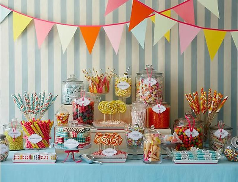 9-reception-decorations-summer-wedding-sweet table wedding via Pinterest http://www.projectwedding.com/ideas/26312/candy-buffett-photo-inspiration