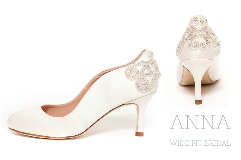 Wide Wedding Shoes | These Wide Fitting Wedding Shoes Will Keep You Dancing All Night