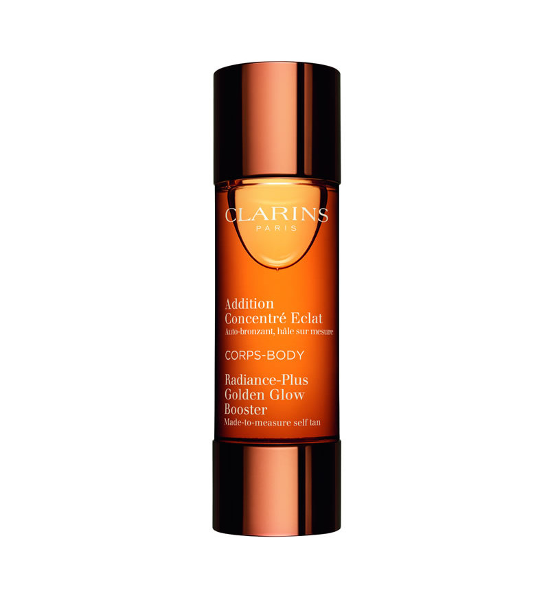 best fake tans Clarions Golden Glow Booster